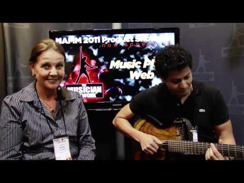 NAMM 2011 Product Showcase: Music Place Web - Caimbe Guitars