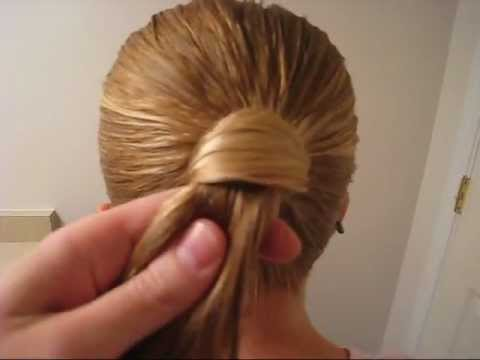 Hair Wrapped Ponytail