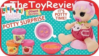 Lalaloopsy Babies Potty Surprise Doll Unboxing Toy Review by TheToyReviewer
