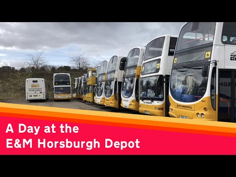 A Day at the E\u0026M Horsburgh Depot
