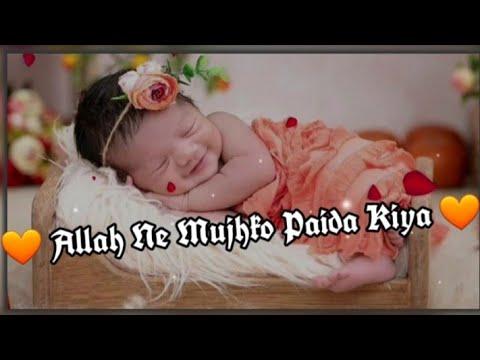 allah-ne-mujhko-paida-kiya-||-whatsapp-status-||-allah-ne-mujhko-paida-kiya-hasbi-rabbi-jallallah