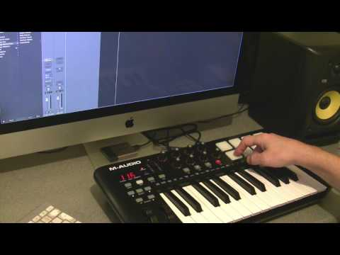M-Audio Oxygen 25 review (with Logic Pro X)