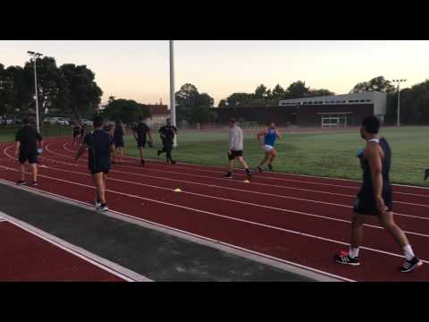 Auckland Academy speed & fitness session