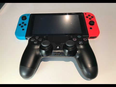 WHAT HAPPENS WHEN YOU CONNECT A PS4 CONTROLLER TO THE NINTENDO SWITCH