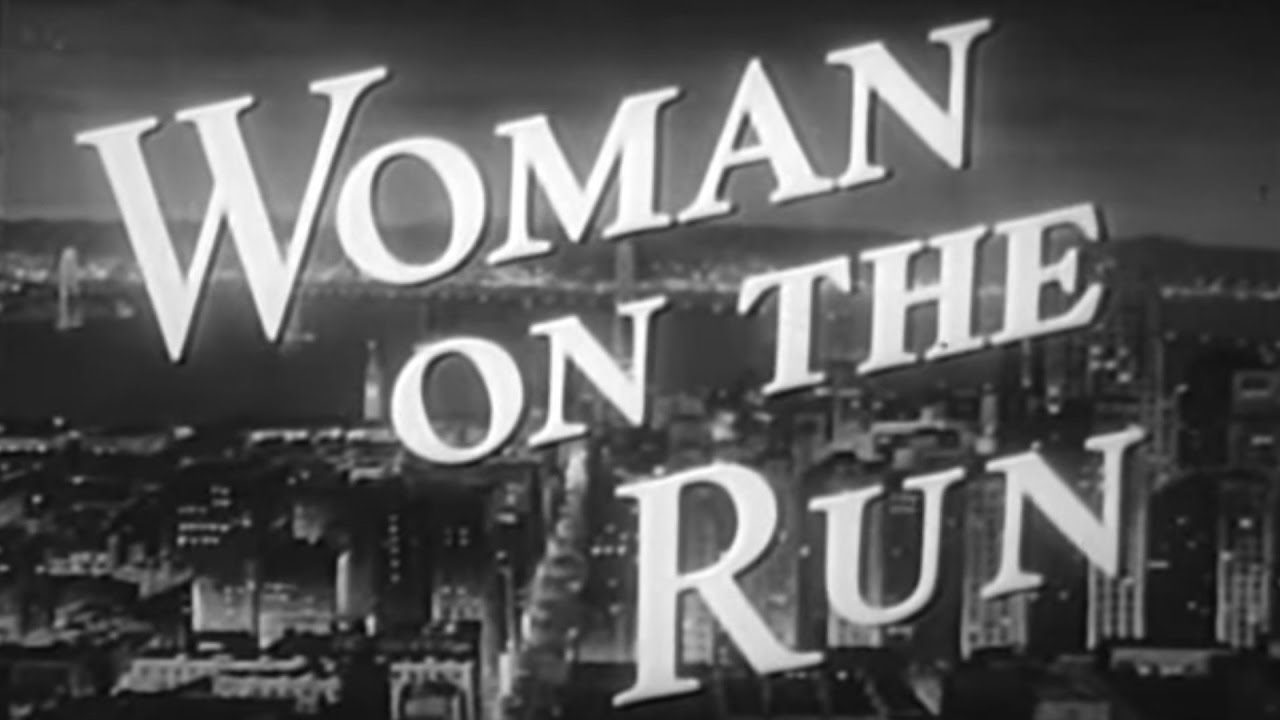 Woman on the Run(1950) FilmNoir |Missing husband on the run|Video