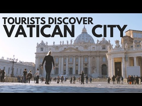 Tourists Discover... VATICAN CITY