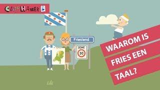 Waarom heeft Friesland een eigen taal?