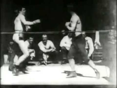 Boxing contest between Mike Leonard and Jack Cushing 1894