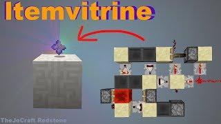 AUTOMATISCHE ITEMVITRINE Tutorial - Items ausstellen mit Redstone