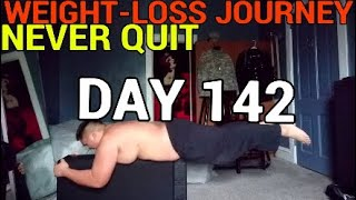 DAY 142   Weight-loss Journey   Motivation Man