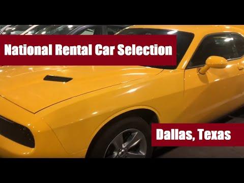 National Car Rental: Emerald / Executive Aisle At Dallas Airport (DFW Texas)