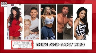 Geordie Shore Then and Now 2020