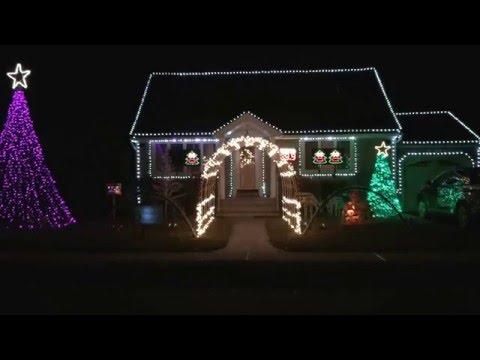 Fair Lawn Man Dazzles Neighborhood With Elaborate Christmas Light Show