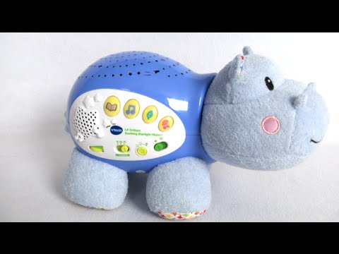 Lil' Critters Soothing Starlight Hippo from VTech