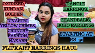 Earrings for Rs.20? | Affordable earrings haul | Flipkart earrings haul | Myntra jewellery haul