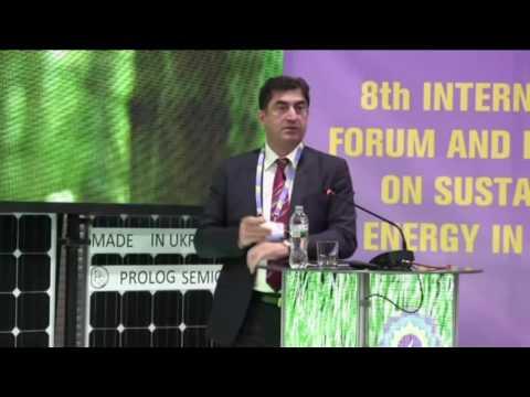 Presentation of Jamil Malikov from Azerbaijan State Agency on Renewable Energy at SEF-2016 Kyiv