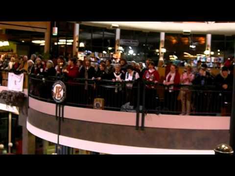 Flash Mob of Handel's Messiah at Joseph-Beth in Lexington, KY 12/17/2010