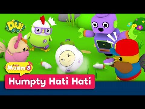Didi & Friends | Lagu Baru Musim 3 | Humpty Hati Hati