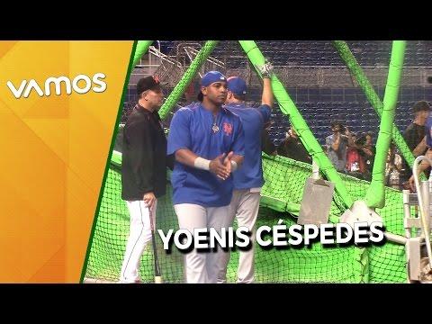 Yoenis Céspedes de los New York Mets