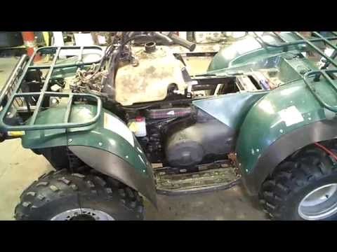 LOT 2321A 1997 Polaris Magnum 425 4X4 Tear Down for Parts