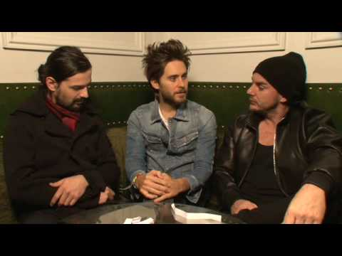 NME Video: 30 Seconds To Mars Interview