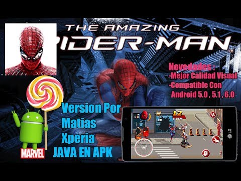 The Amazing Spider-Man 2D Java En apk Para android 2017