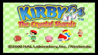 Nintendo 64 Longplay [030] Kirby 64 - The Crystal Shards