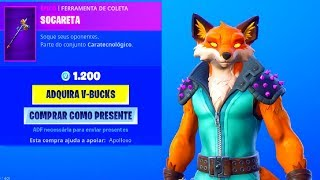 "* NEW * FOX SKIN ""PHOENIX"" AND PICKAXE ""THORNY CLONERETA""! [Fortnite Store 25/08]..."