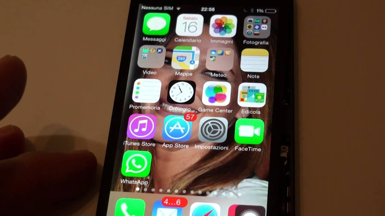 In fretta batteria iphone scarica