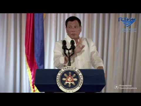 President Duterte criticizes Catholic priests, bishops during PNP oath taking speech