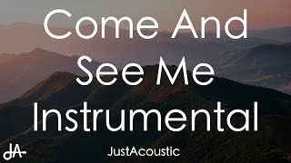 Come and See Me - PARTYNEXTDOOR ft. Drake (Acoustic Instrumental)