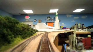 HUGE N-scale Layout Tour