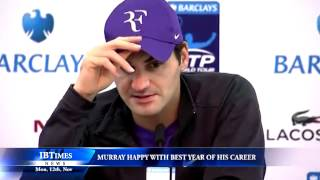 Murray happy with best year of his career