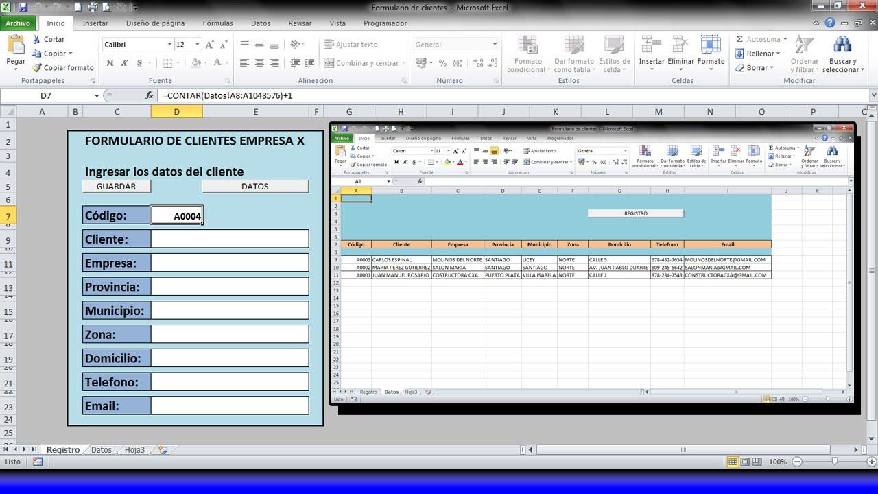 La mejor manera de crear un Formulario o Base de datos de Clientes ...