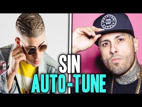 Nicky Jam VS Bad Bunny   SUS VOCES REALES SIN AUTO-TUNE