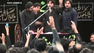 zakir syed imran haider kazmi  Reza e najaf 03 Muharram  2013