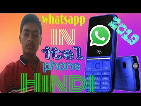 Whatsapp download for all itel java mobile phones