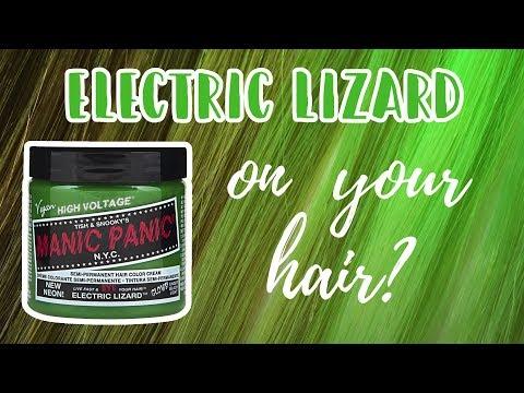 Manic Panic ELECTRIC LIZARD | Hair Level Swatches