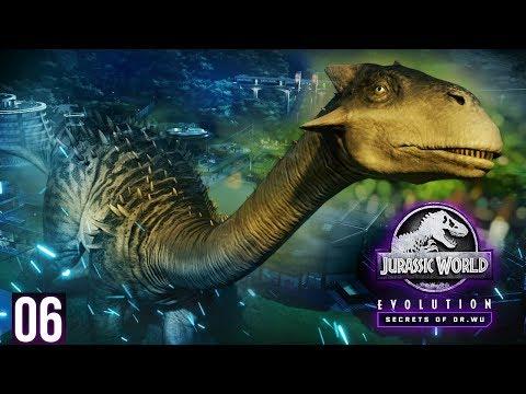 SECRET HYBRID FACILITY! FIRST HYBRID!   Secrets Of Dr. Wu - Part 6 (Jurassic World: Evolution)