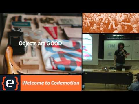 We are not Object Oriented anymore - Matteo Collina