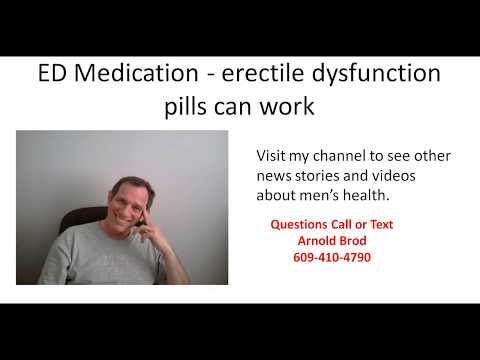 ED Medication -  erectile dysfunction pills can work