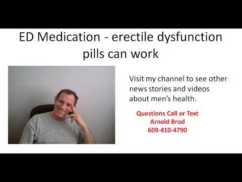 ED Medication -  erectile dysfunction pills can work thumbnail