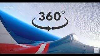 MiG-29 Edge of Space Flight 360°