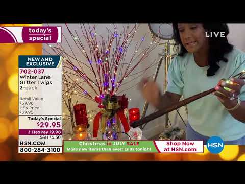 Hsn Christmas In July 2020 Schedule HSN | Christmas in July Sale  Holiday Decor 07.07.2020   12 AM