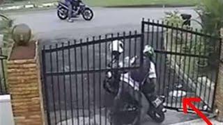 Kompilasi Video CCTV Maling Lucu 2014 ~ Aksi Pencurian Terekam CCTV Gagal Dan Lucu #1