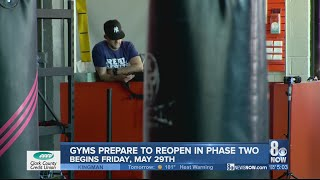 Local gyms prepare to reopen with strict guidelines