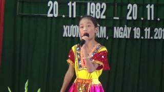Từ rừng xanh cháu về thăm lăng Bác - Lê Thị Minh Anh