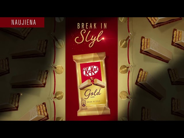 Kit Kat Gold - Break in style
