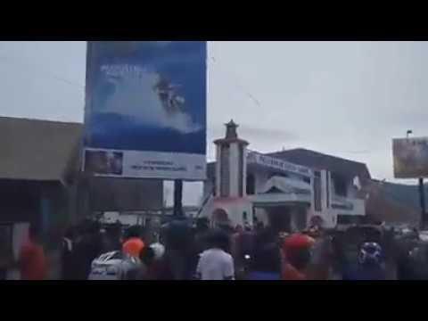 Kerusuhan Di Luwuk Banggai, MENCEKAM....!!!