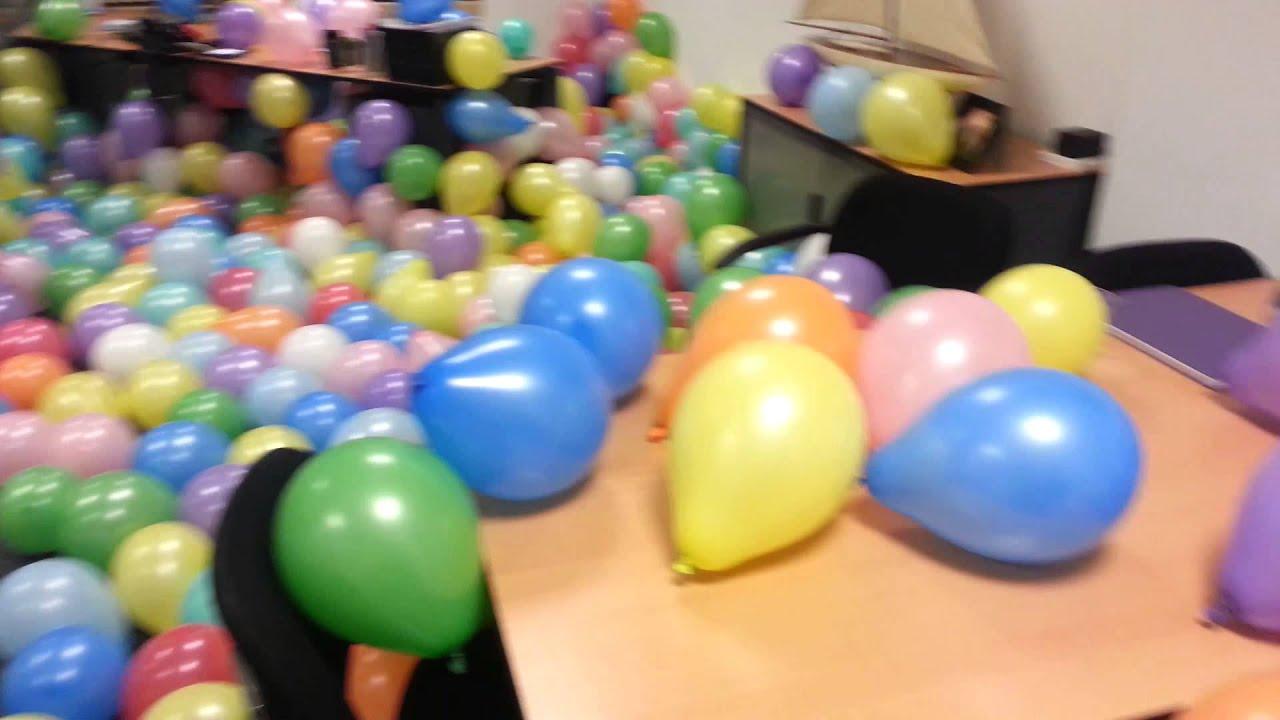 Simon 50 jaar leuk kantoor youtube - Versieren kantoor ...
